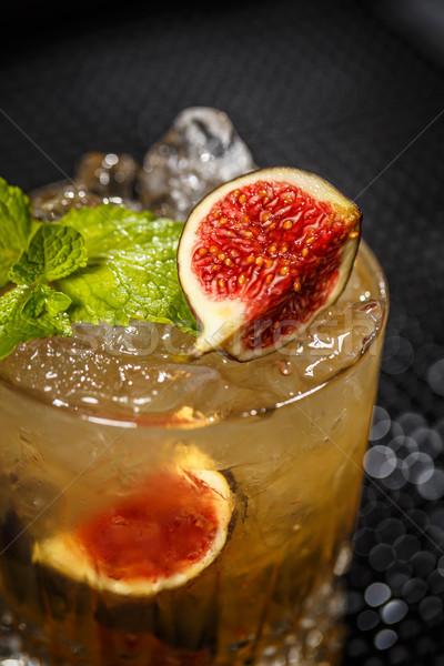 Ghiacciato cocktail vetro Foto d'archivio © grafvision