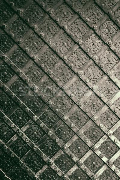 Magnífico ferro elementos porta Foto stock © grafvision