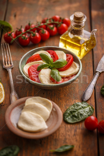 Simple and tasty starter Stock photo © grafvision