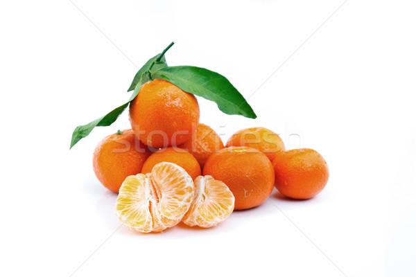 tasty tangerines Stock photo © grafvision