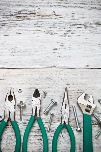 Set of tools Stock photo © grafvision