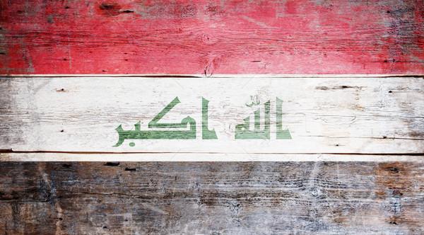 Flag of Iraq Stock photo © grafvision