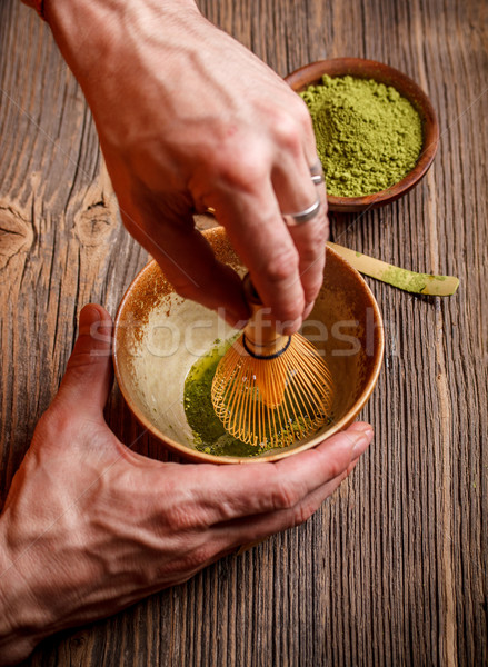 Matcha Stock photo © grafvision