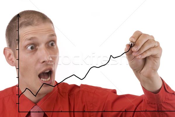 man designing Stock photo © grafvision