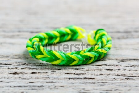 Loom bands bracelet Stock photo © grafvision