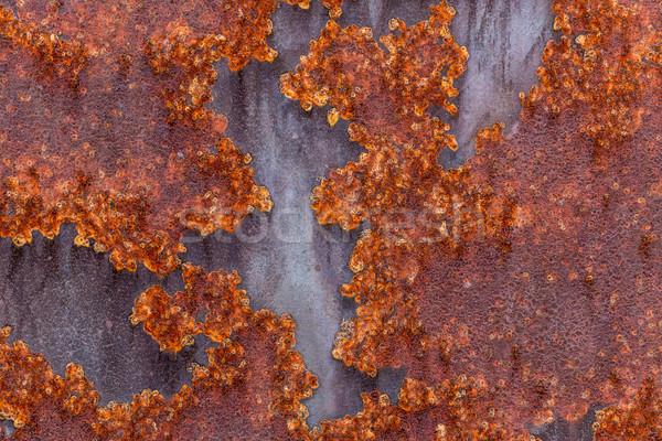 Iron surface rust Stock photo © grafvision