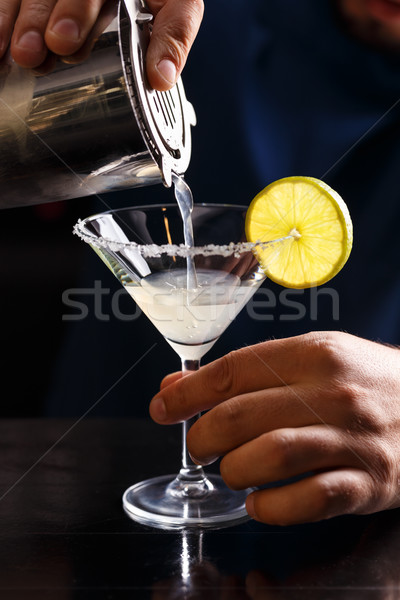 Margarita cocktail Stock photo © grafvision
