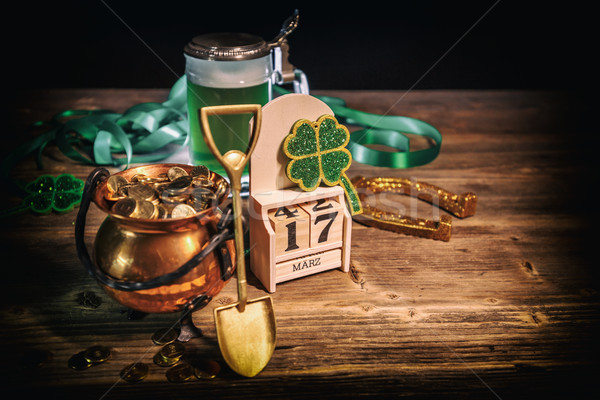 St Patrick's Day still life Stock photo © grafvision