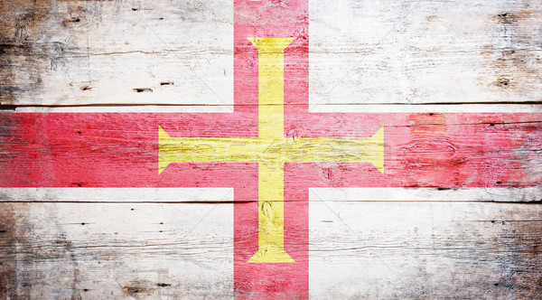 Flag of Guernsey Stock photo © grafvision