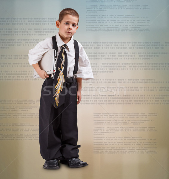Business boy Stock photo © grafvision