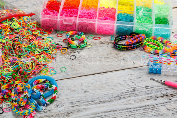 Loom bands tool Stock photo © grafvision