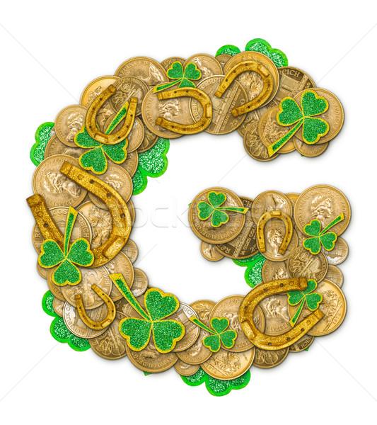 St. Patricks Day holiday letter G  Stock photo © grafvision