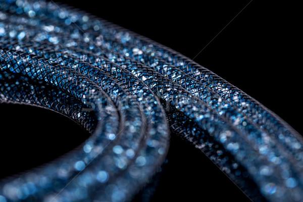 ожерелье небольшой стекла камней женщины Сток-фото © grafvision