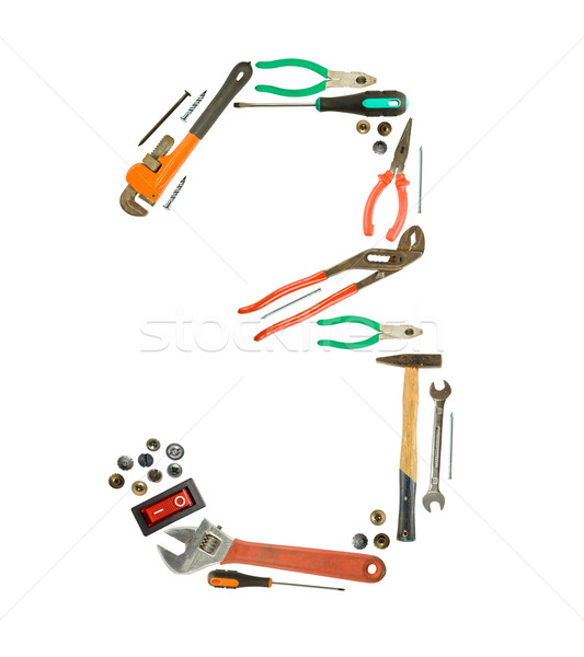 tools number Stock photo © grafvision