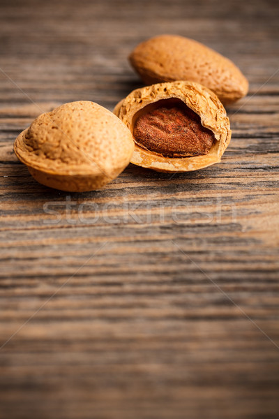 Almonds with kernel  Stock photo © grafvision