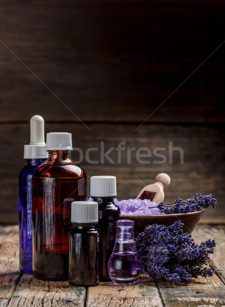 лаванды цветы расслабиться Spa ванны Сток-фото © grafvision
