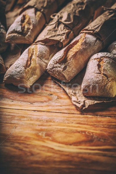 Different types of bread Stock photo © grafvision