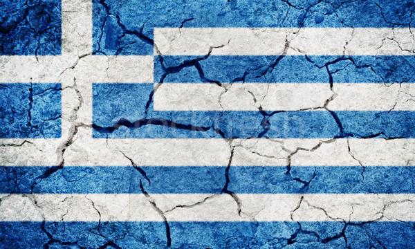 Hellenic Republic flag  Stock photo © grafvision