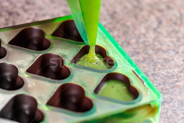 Making homemade praline sweets Stock photo © grafvision