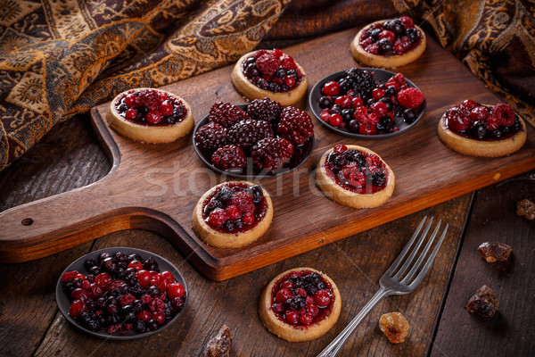 Shortcake pies Stock photo © grafvision
