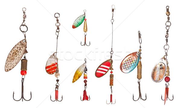 spinner lures Stock photo © grafvision