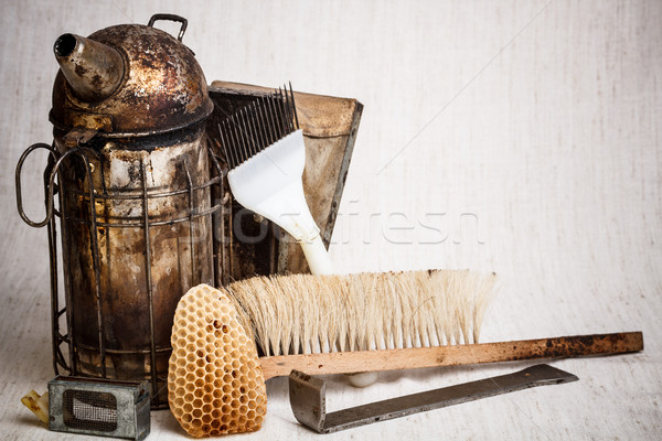 Beekeeping equipment Stock photo © grafvision