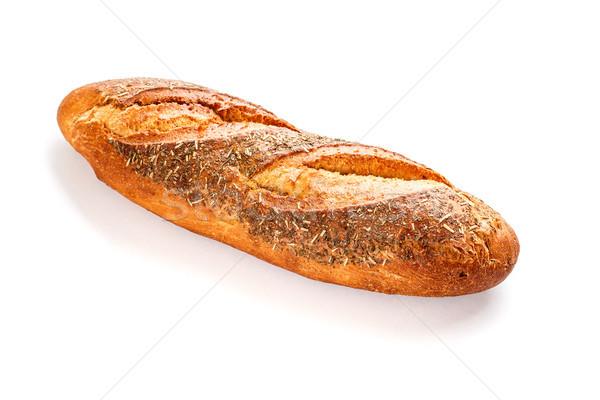 1 ローフ 白 食品 スペース パン ストックフォト © grafvision