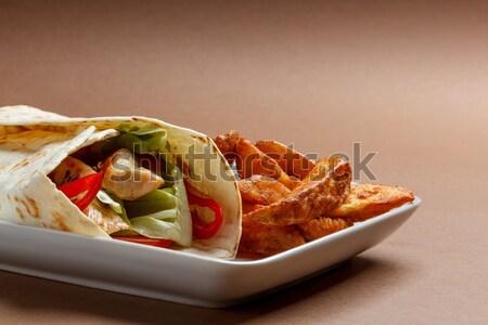 Tortilla Stock photo © grafvision
