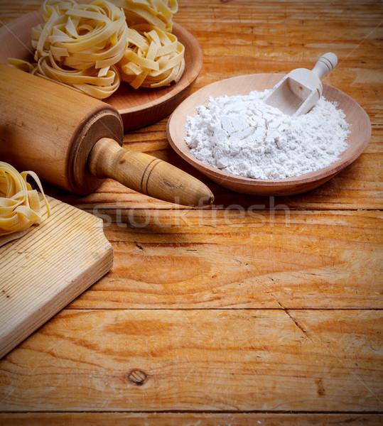 Pasta fettuccine  Stock photo © grafvision