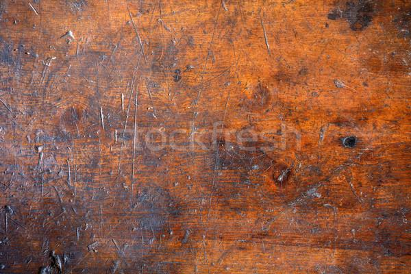 Rongyos fából készült textúra közelkép fa természet Stock fotó © grafvision