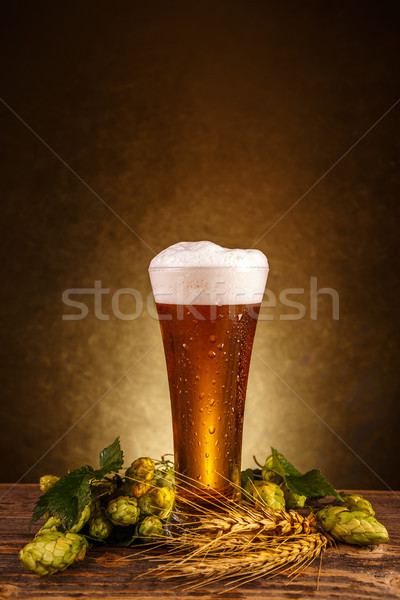 Beer glass Stock photo © grafvision