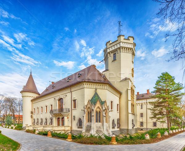 Karolyi castle in Carei Stock photo © grafvision