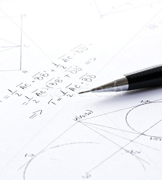 Mathematics Stock photo © grafvision
