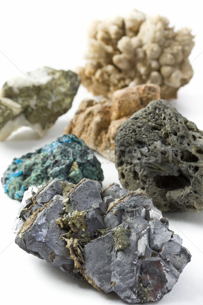 Minerales background Stock photo © grafvision