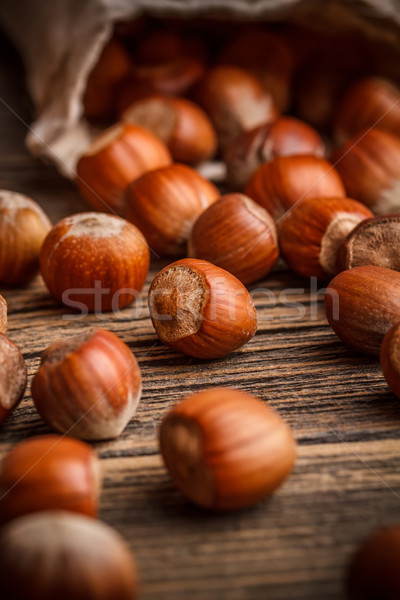 Hazelnuts Stock photo © grafvision