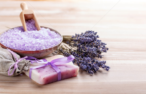 Homemade soap Stock photo © grafvision