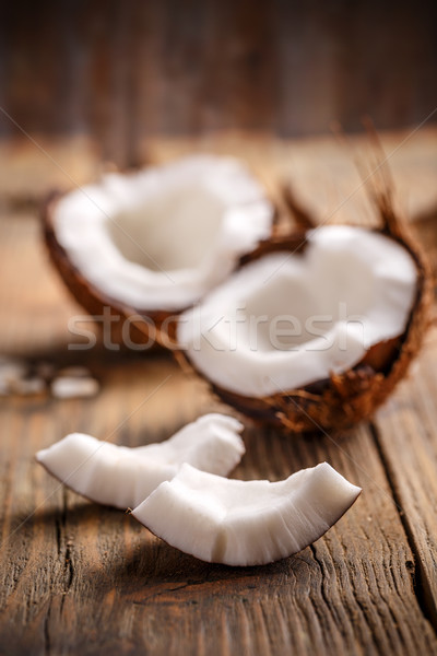 Coconut slices  Stock photo © grafvision