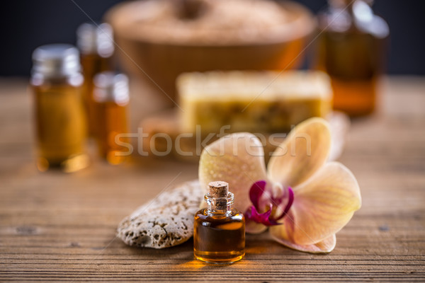 Massage oil  Stock photo © grafvision