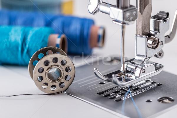 Detail of sewing machine Stock photo © grafvision