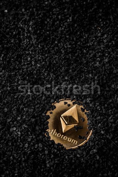 Crypto currency ethereum Stock photo © grafvision