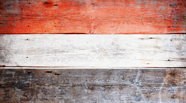 Bandeira Iémen pintado sujo madeira Foto stock © grafvision