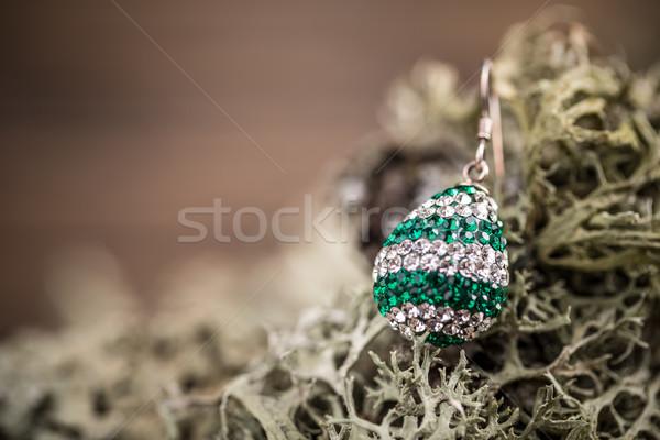 Brinco pedras espaço texto moda fundo Foto stock © grafvision