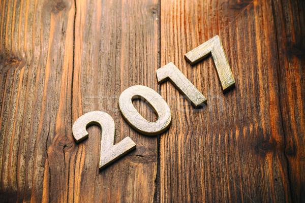Happy New Year 2017 Stock photo © grafvision