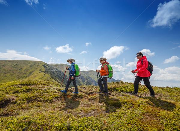 Trekking in Ciucas mountains Stock photo © grafvision