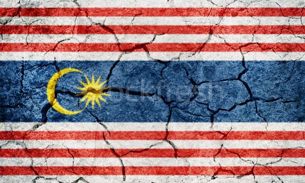 Kuala Lumpur, capital of Malaysia, flag Stock photo © grafvision