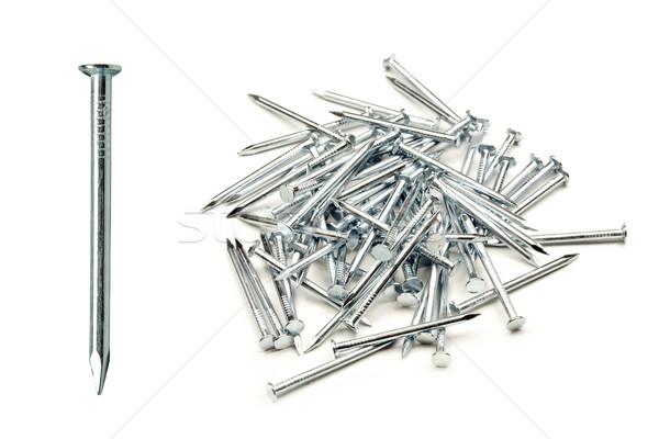 爪 特別 金属 白 建設 作業 ストックフォト © grafvision