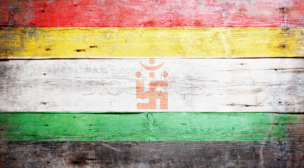 Jain flag Stock photo © grafvision
