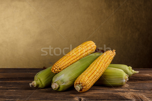 Stock photo: Fresh corn