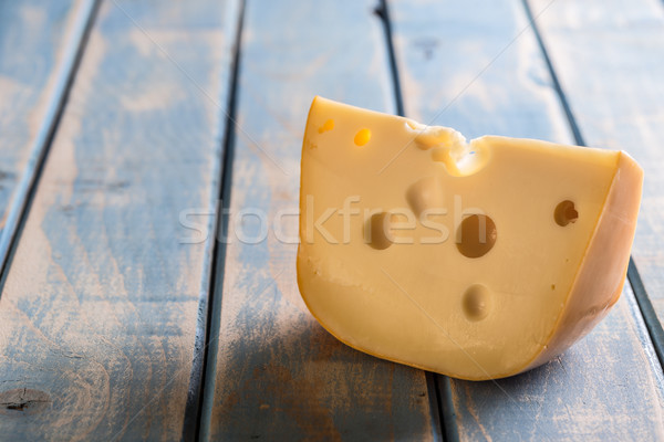 Cheese chunk Stock photo © grafvision