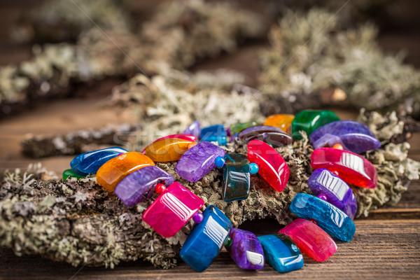 Necklace  Stock photo © grafvision